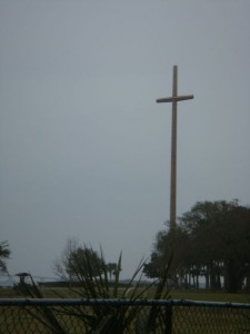 That Is One Gigantic Cross