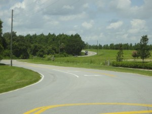 Two Lane Country Road