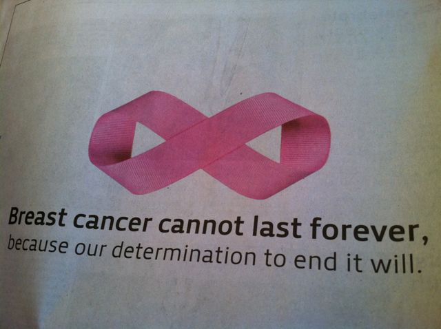 "Someday Cancer Will Be ""History"""